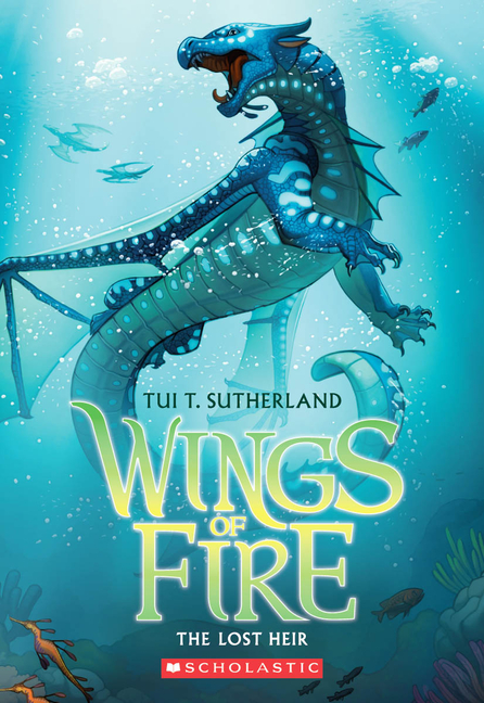 The Lost Heir (Wings of Fire #2). Tui T. Sutherland.
