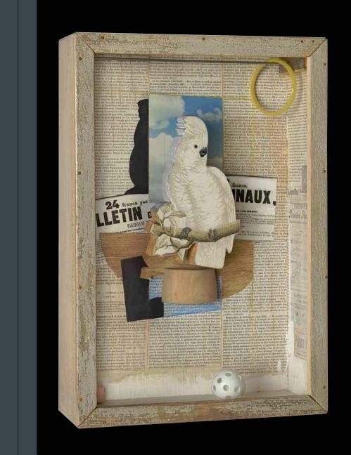 Birds of a Feather: Joseph Cornell's Homage to Juan Gris. Cornell, Mary Clare McKinley.