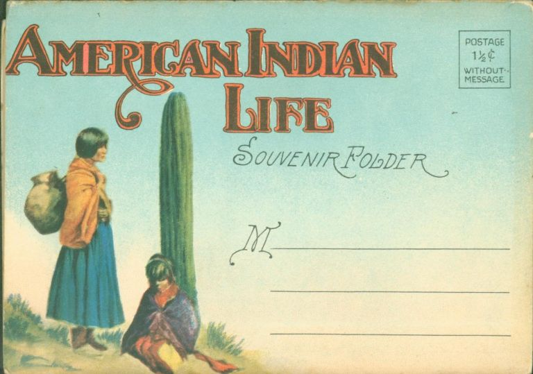 American Indian Life (color photographs). H. H. Tammen Co.