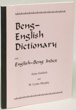 Beng-English Dictionary. Alma Gottlieb, M. Lynne Murphy