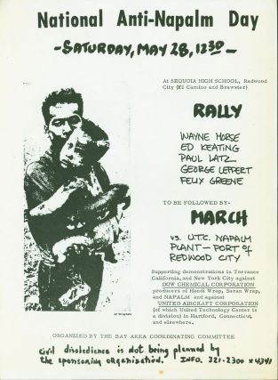National Anti-Napalm Day. . .Rally . . . to Be Followed by a March