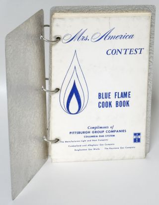 Mrs. America Contest: Blue Flame Cook Book