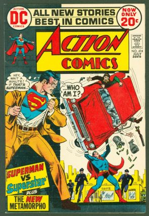 Action Comics (vol. 1) #414. DC Comics, Cary Bates, Curt Swan, Bob Haney, John Calnan