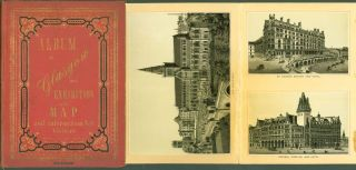 Album of Glasgow and Exhibiton with Map and Information for Visitors
