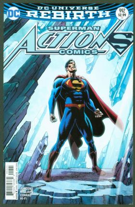 Action Comics #992 (Jerry Ordway variant cover). DC Comics, Dan Jurgens, Rob Williams, Will Conrad