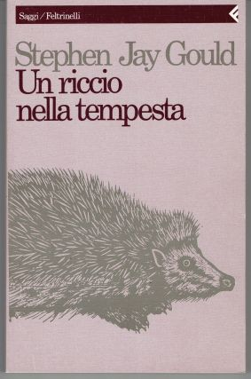 Un riccio nella tempesta: Saggi su libri e idee [An Urchin in the Storm: Essays About Books and...