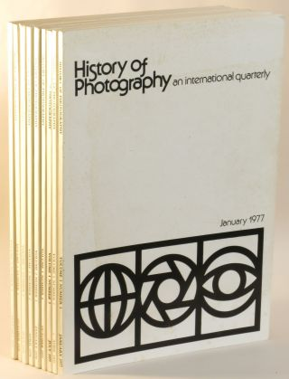 History of Photography: An International Quarterly. Vol. I: No. 1-4 (1977); Vol. II, No. 1-4...