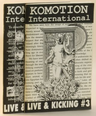 Komotion International: Live & Kicking #3 and #4 (2 issues