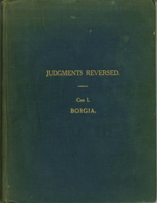 Judgments Reversed. Case I. Borgia. C. G. K