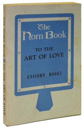 The Horn Book: A Girl's Guide to the Art of Love. Anonymous